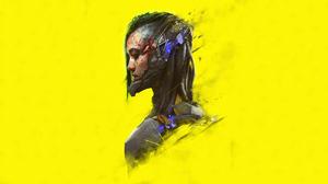 Cyberpunk Cyborg Girl 3840x2160 wallpaper