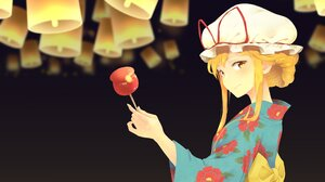 Yukari Yakumo 2865x2026 Wallpaper