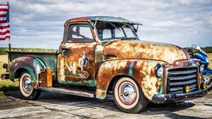 GMC Pickup Trucks Classic Car USA Hot Rod 4899x3266 Wallpaper