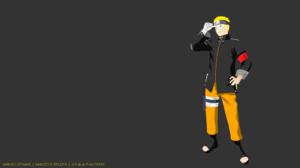 Boy Minimalist Naruto Naruto Uzumaki 8000x4500 Wallpaper