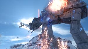 At At Walker Hoth Star Wars Star Destroyer Y Wing 1600x900 wallpaper