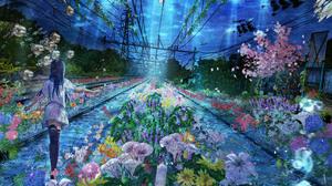 Fantasy Flower Sea Underwater 4000x3000 Wallpaper