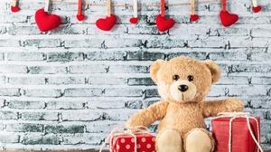 Gift Still Life Stuffed Animal Teddy Bear 5472x3648 Wallpaper
