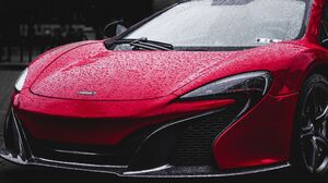 McLaren Car Vehicle Red Cars 3840x2160 Wallpaper