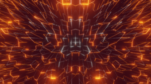 Abstract Glowing Symmetry 3840x2160 Wallpaper