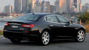 Black Car Car Full Size Car Luxury Car Maserati Quattroporte Gts Sports Sedan 1920x1080 Wallpaper