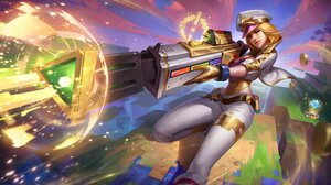 Caitlyn League Of Legends 4096x2416 Wallpaper
