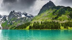 Landscape Lake 1920x1080 Wallpaper