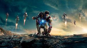 Avengers Iron Man Iron Man 3 Robert Downey Jr Tony Stark 8303x4320 Wallpaper