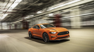 Car Ford Ford Mustang Muscle Car Orange Car Vehicle 6503x3824 Wallpaper