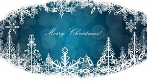 Blue Christmas Merry Christmas White 1920x1080 Wallpaper
