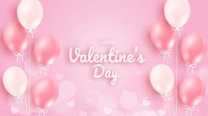Happy Valentine 039 S Day Balloon 1920x1193 Wallpaper