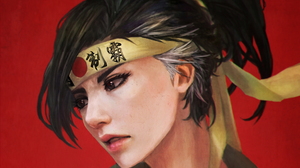 Black Hair Face Genderbend Hanzo Overwatch Overwatch 2480x1773 Wallpaper