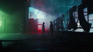 Ana De Armas Blade Runner Blade Runner 2049 Joi Blade Runner 2049 Night Officer K Blade Runner 2049  3440x1440 Wallpaper
