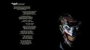 Comics Dc Comics Joker Word 1920x1080 Wallpaper