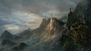 Fantasy Castle 1920x1200 Wallpaper