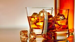 Drink Glass Ice Whisky 7504x4690 Wallpaper