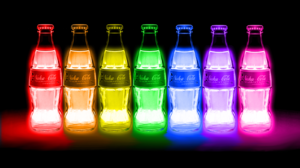 Colorful Bottles Fallout 4 Nuka Cola Bethesda Softworks 1600x900 Wallpaper