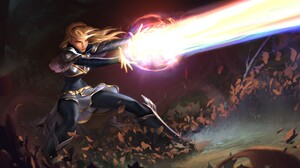 Lux League Of Legends 2560x1280 Wallpaper