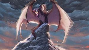 Fantasy Dragon 1920x1133 wallpaper