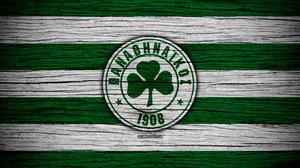 Emblem Logo Panathinaikos F C Soccer 3840x2400 Wallpaper