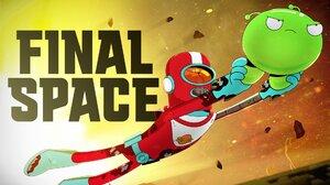 Final Space Cartoon Series TV Series Netflix Netflix TV Series Adult Swim Humor 2018 Year Gary Goods 1920x1080 Wallpaper