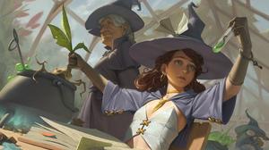 Fantasy Witch 1920x1152 Wallpaper