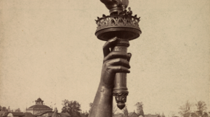 Architecture Building Old Building History Statue Of Liberty People Men Women Lake Old Photos Sepia  1274x1600 Wallpaper