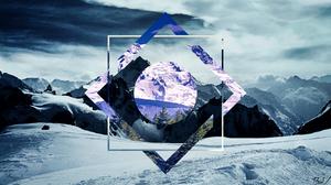 Landscape Mountain Snow 1920x1080 wallpaper