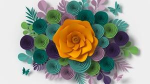 3d Colors Flower 6000x4000 Wallpaper