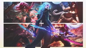 Katarina League Of Legends 1920x1080 Wallpaper