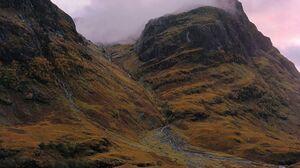 Glen Coe Glen Scotland Highlands Fog 1920x1200 Wallpaper