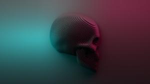 Dark Skull 2958x1972 wallpaper