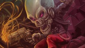 Dark Skull 1920x1080 Wallpaper