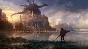 Dragon Knight 3840x2160 Wallpaper
