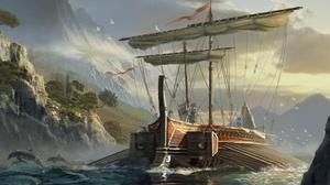 Assassin 039 S Creed Boat 1920x1080 wallpaper
