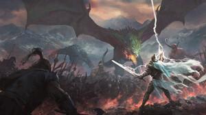 Dragon Warrior Lightning 1920x1080 Wallpaper