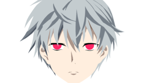 Aru Akise Boy Face Minimalist Mirai Nikki White Hair 5684x3504 Wallpaper