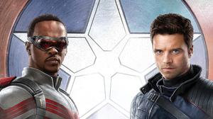 The Falcon And The Winter Soldier Falcon Captain America The Winter Soldier Marvel Comics Marvel Cin 3840x2160 Wallpaper