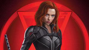 Black Widow Marvel Comics Natasha Romanoff Scarlett Johansson 3840x2160 wallpaper