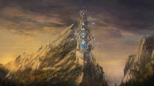 Building Landscape Magic Tower 3000x1688 wallpaper