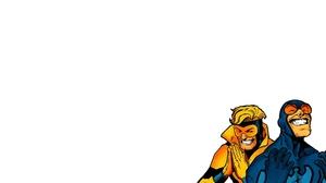 Blue Beetle Dc Comics Booster Gold Dc Comics 1920x1080 Wallpaper