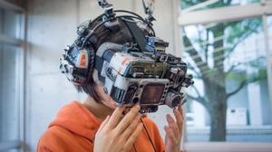 Women Cyberpunk VR Headset Asian Mask Short Hair 1500x999 Wallpaper