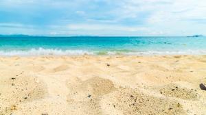 Sand Summer Depth Of Field Nature Ocean 6000x3952 wallpaper
