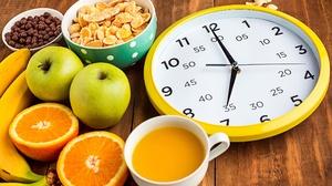 Apple Clock Juice Banana Fruit Cereal Still Life Orange Fruit 2200x1524 Wallpaper