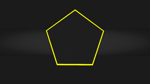 Black Hexagon Yellow 7680x4320 Wallpaper