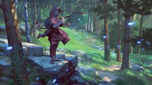 Fantasy Forest 1920x1552 Wallpaper