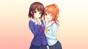 Eromanga Sensei Megumi Jinno Megumi Kat Saekano How To Raise A Boring Girlfriend 2132x1199 wallpaper