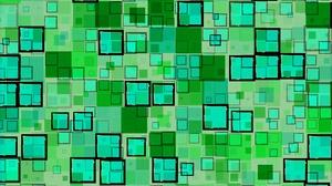 Artistic Digital Art Green Square 4961x3508 Wallpaper