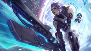 Sword Woman Warrior Riven League Of Legends 4000x2360 Wallpaper